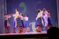 Отчетный концерт коллектива народного танца